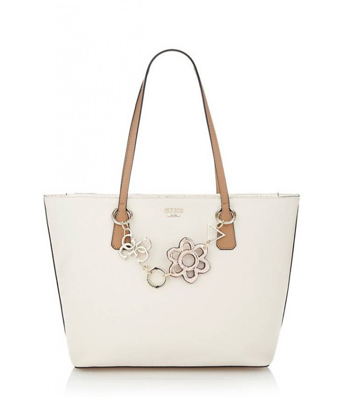 GUESS DANIA SHOPPER WITH CHARMS