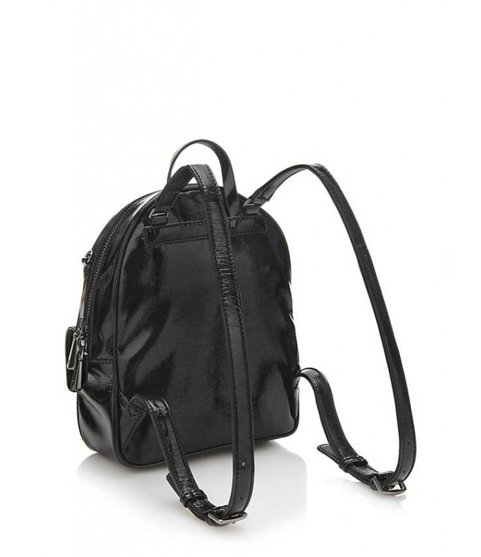 GUESS VARSITY POP PATENT BACKPACK