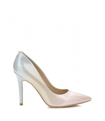 GUESS BLIX METAL-LOOK COURT SHOE