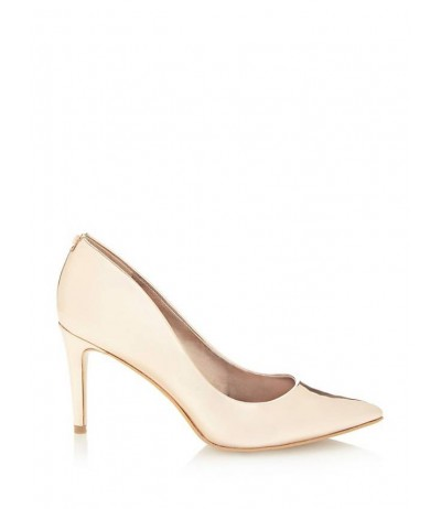 BENNIE METAL-LOOK COURT SHOE