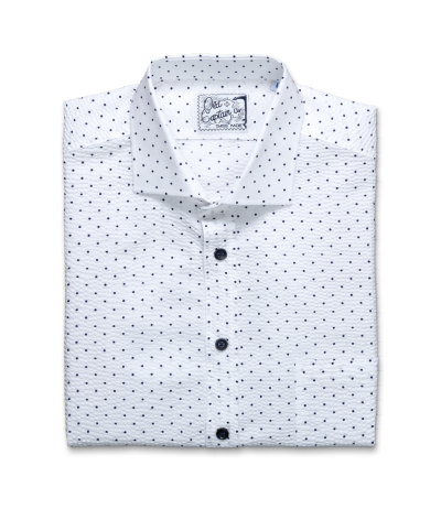 Old Captain Men's Barfleur White Shirt