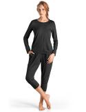 Hanro Long-Sleeve Yoga Shirt