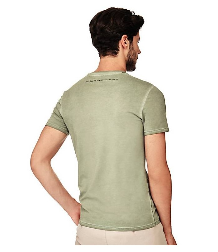 GUESS T-SHIRT WITH LOGO ON THE FRONT