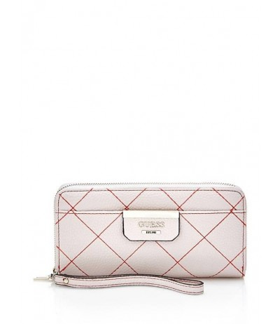GUESS BOBBI QUILTED-LOOK WALLET