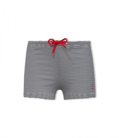 Petit Bateau  Boy's milleraies striped swimsuit