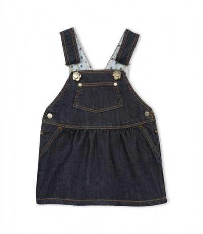 Petit Bateau Baby girl's denim dress