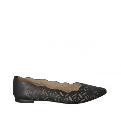 Baldinini LOAFERS IN BLACK CALFSKIN