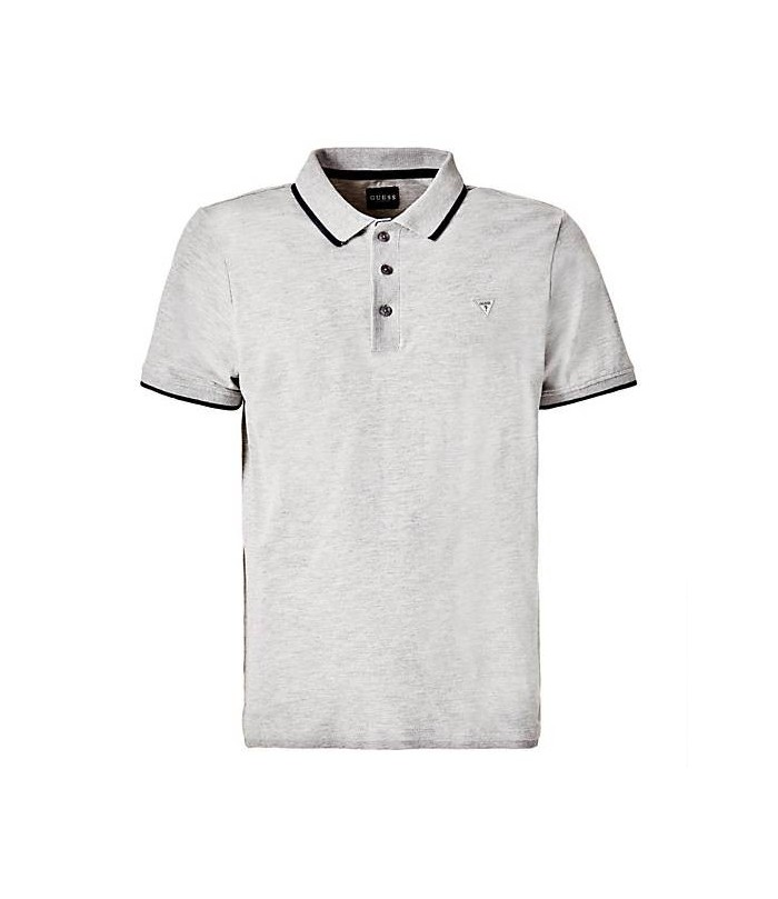 GUESS CONTRASTING TRIM POLO