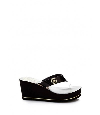 GUESS SHADIA WEDGE FLIP-FLOPS