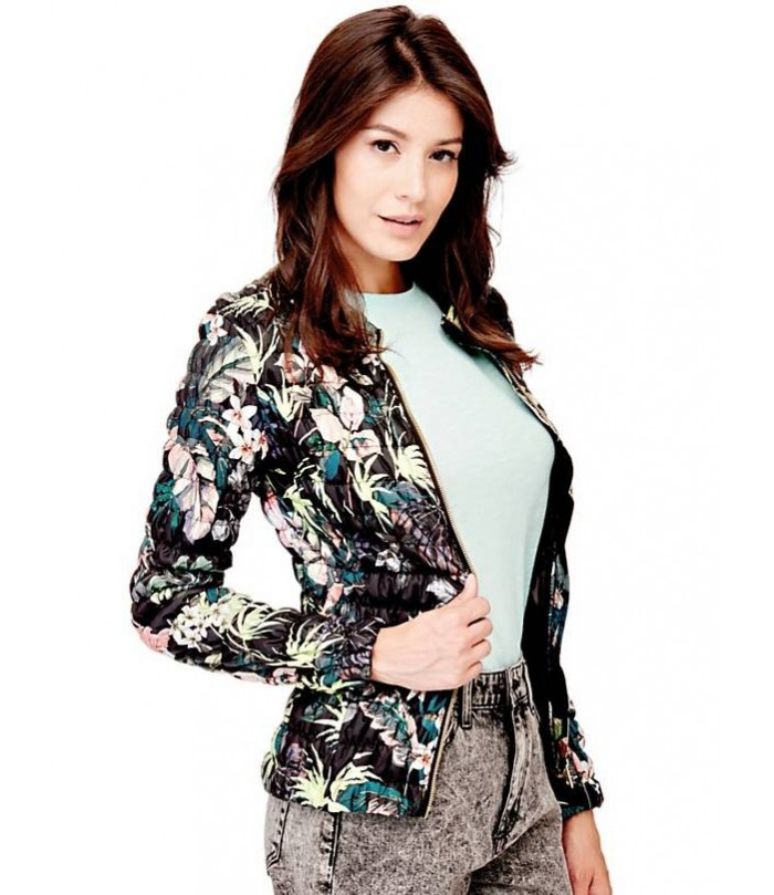 GUESS STRETCH QUILTED JACKET