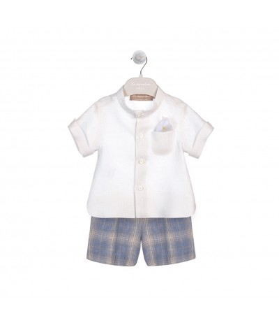 La Stupenderia Set in Cotton for Girls