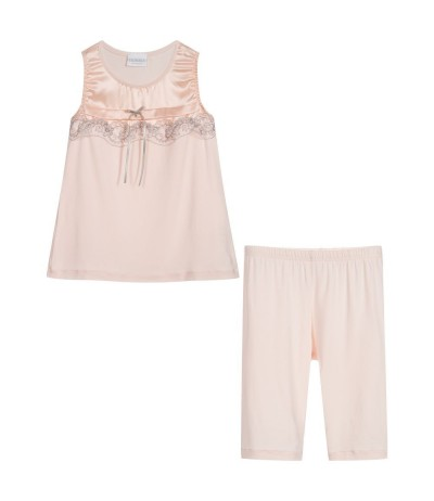 Girls Luxury Pink Pyjamas