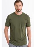 HANRO V-Shirt Kurzarm  Basil