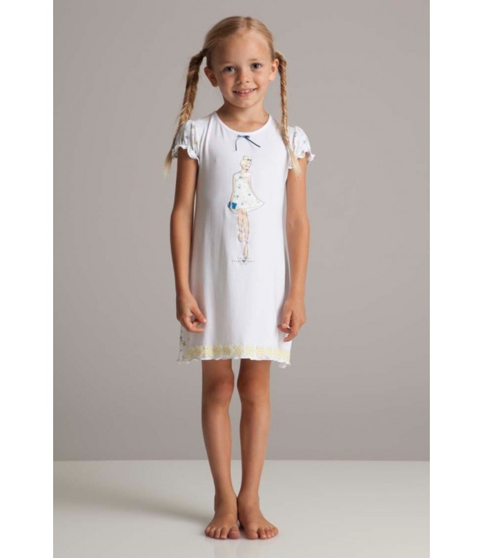 Story Loris Girls Luxury Night Dress