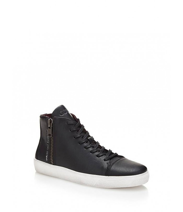 GUESS LAURENCE HIGH SNEAKER WITH ZIP