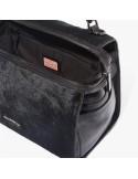 COCCINELLE Pony hair and leather handbag