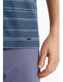 HANRO Linus Short Sleeve Pajama