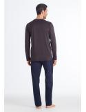 HANRO Linus Long Sleeve Pajama