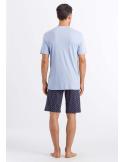 HANRO Night & Day Short Sleeve Short Pajama