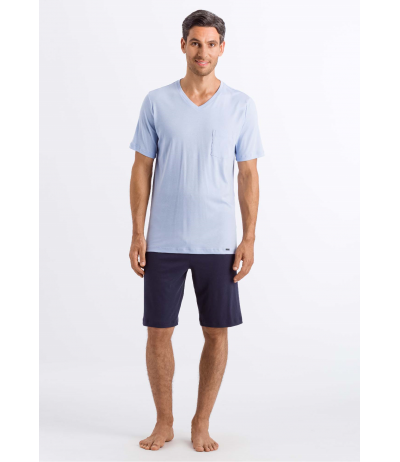 HANRO Night & Day Short Sleeve Short Pajama
