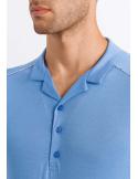HANRO Luca Short Sleeve Henley Pajama