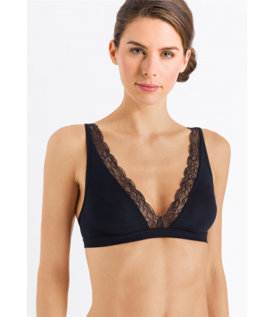 HANRO Cotton Lace Soft Cup Bra