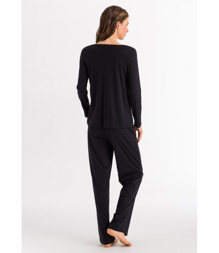 HANRO Moments Long Sleeve Pajama