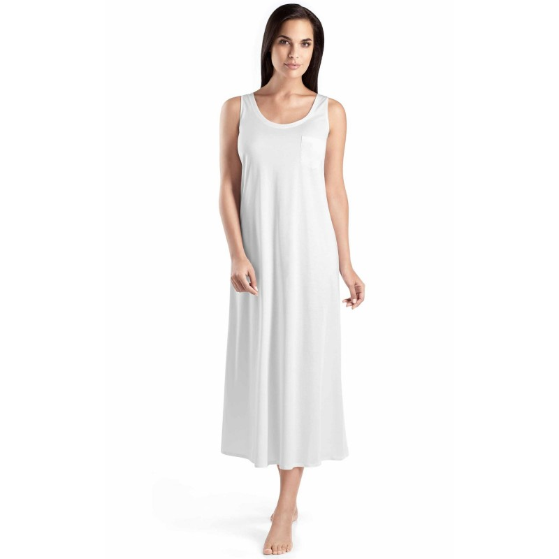 HANRO Cotton Deluxe Long Tank Gown