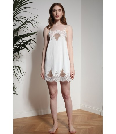 Softness Jersey short Nightgown