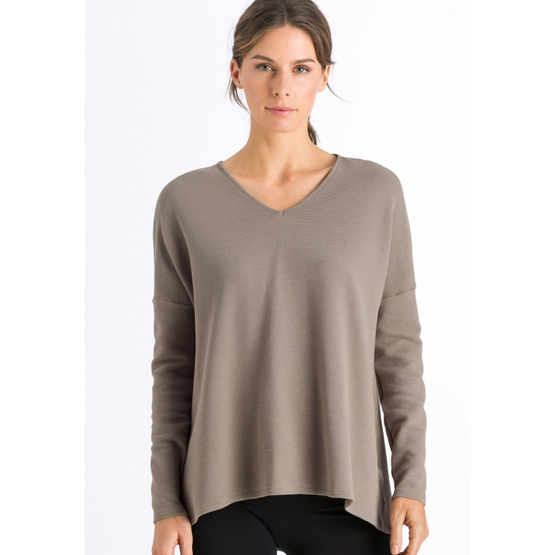 HANRO Pure Comfort Long Sleeve Shirt