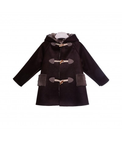 La Stupenderia Hooded Coat