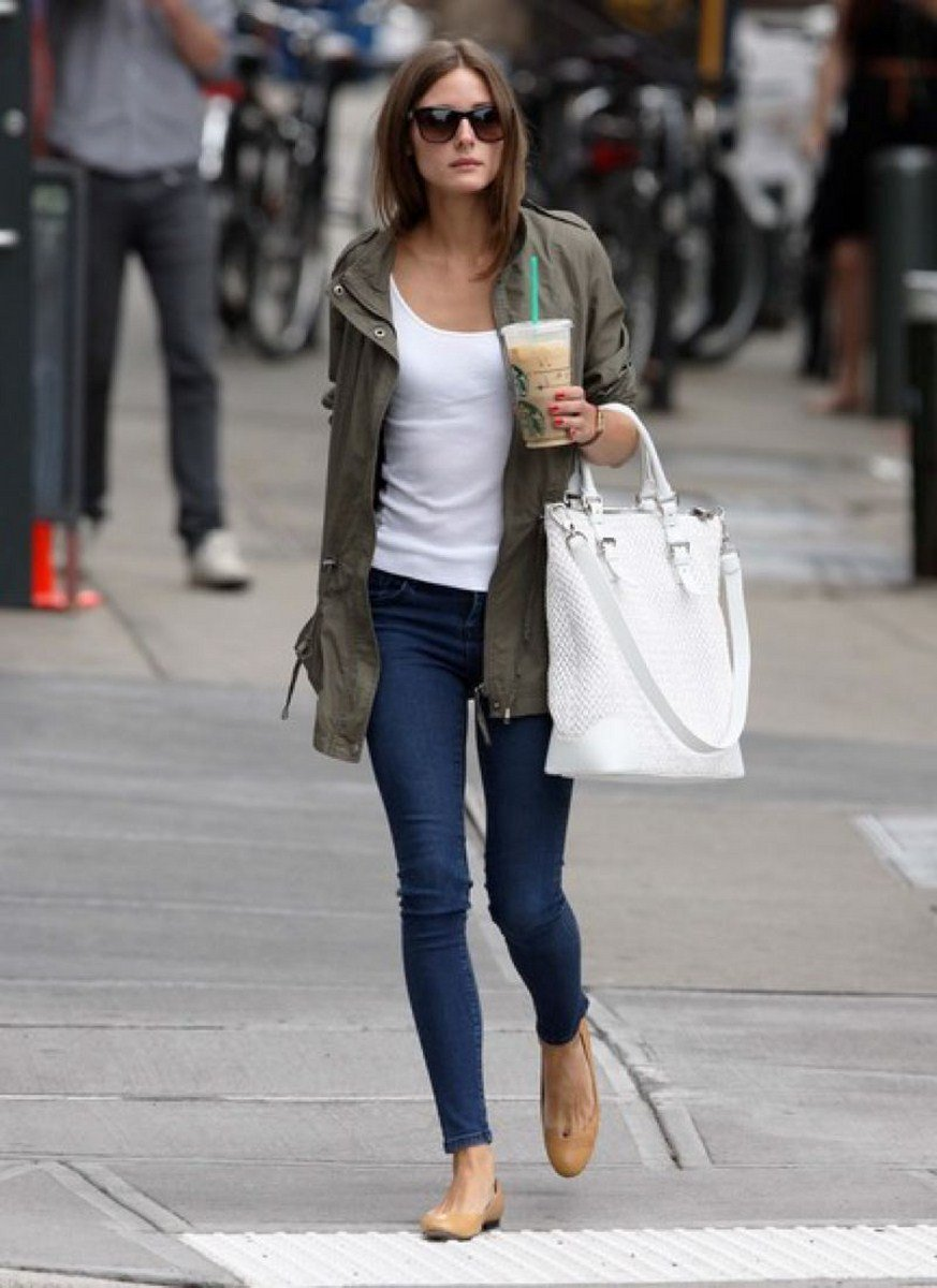 casual fashion style picture 2 lady jeans