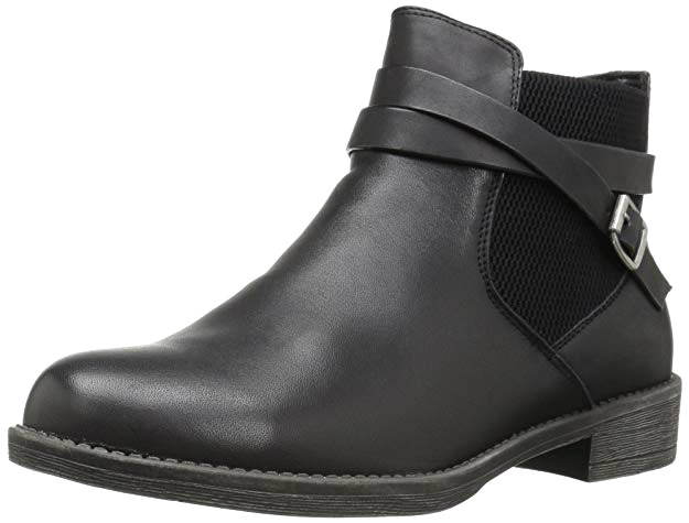 Propet Wide Feet Black Shoes The Perfect Ankle Boot