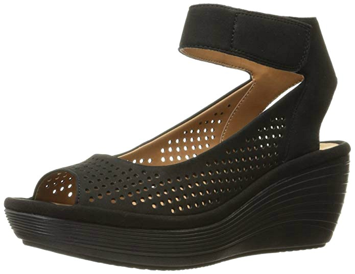 Reedly Salene Wedge Sandal For Women with Wide Width Feet