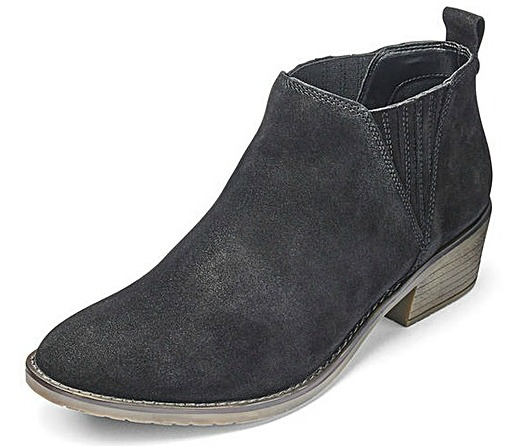 Suede Ankle Boots From Heavenly Soles Get That Heavenly Feeling With These Wide Feet Shoes